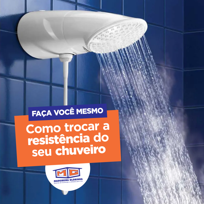 como trocar a resistência do chuveiro